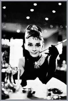 Audrey Hepburn - breakfast Uokvirjen plakat