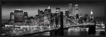 Manhattan - black Uokvirjen plakat