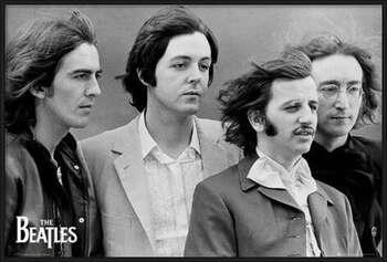 The Beatles - fab four Uokvirjen plakat
