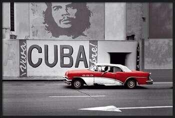Havana - cuba Uokvirjen plakat