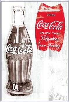 Coca Cola - retro  Uokvirjen plakat