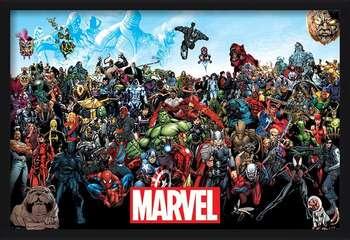 Marvel - Universe Uokvirjen plakat
