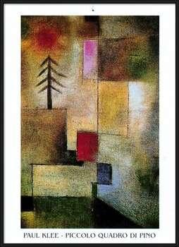 P.Klee - Piccolo Quadro Di Pino Uokvirjen plakat