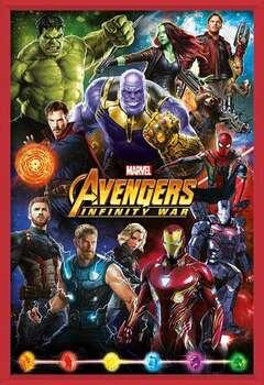 Avengers: Infinity War – Characters Uokvirjen plakat