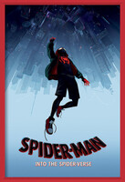 Spider-Man: Into The Spider-Verse – Fall Uokvirjen plakat