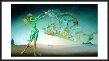 Salvador Dalí – Mirage Uokvirjen plakat