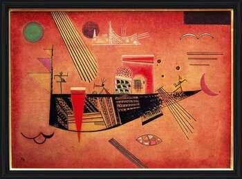 Wassily Kandinsky - Whimsical Uokvirjen plakat