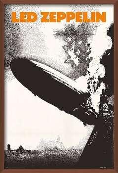 Uokvirjen plakat Led Zeppelin - Led Zeppelin I