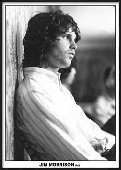 Uokvirjen plakat Jim Morrison - The Doors 1968