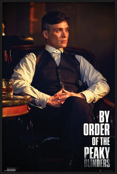 Uokvirjen plakat Peaky Blinders - By Order Of The