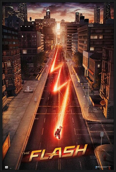 Uokvirjen plakat The Flash - One Sheet