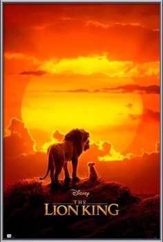 Uokvirjen plakat The Lion King - One Sheet