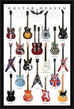Uokvirjen plakat Guitar heaven