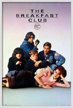Uokvirjen plakat The Breakfast Club - Key Art