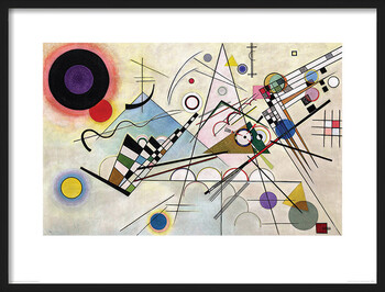 Uokvirjen plakat Wassily Kandinsky - Composition VIII
