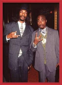 Uokvirjen plakat Snoop Dogg & Tupac - Suits