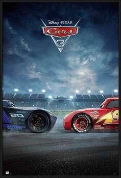 Uokvirjen plakat Cars 3 - Duel