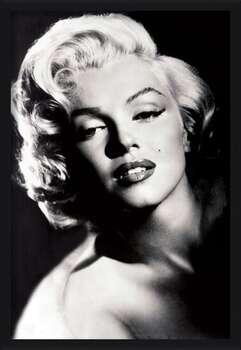 Uokvirjen plakat Marilyn Monroe - glamour