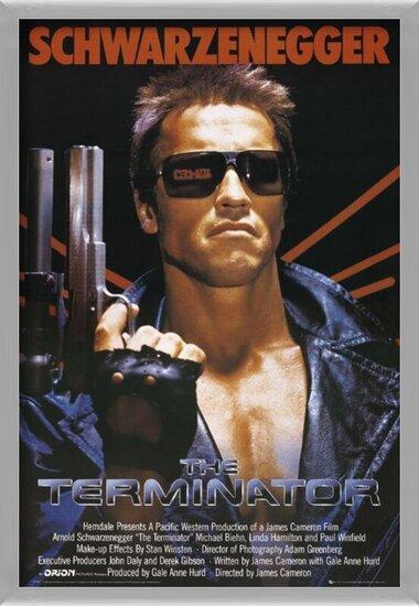 TERMINATOR - one sheet Poster