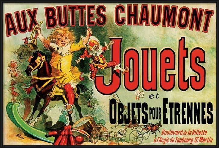 JOUETS - as seen on friends/toys Poster