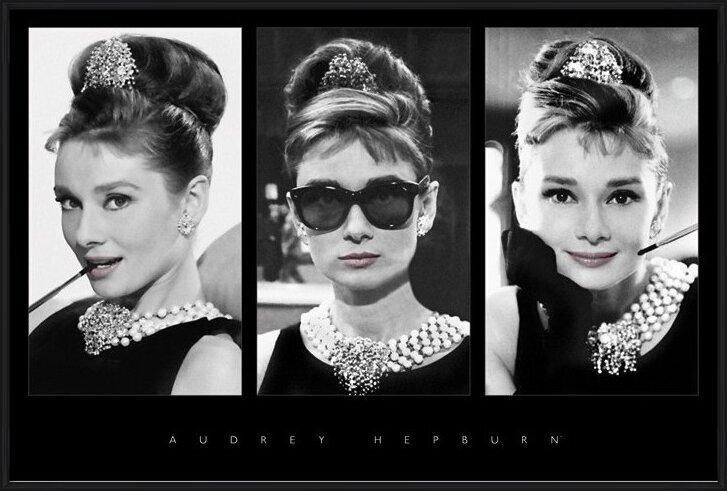 Audrey Hepburn - triptych Poster