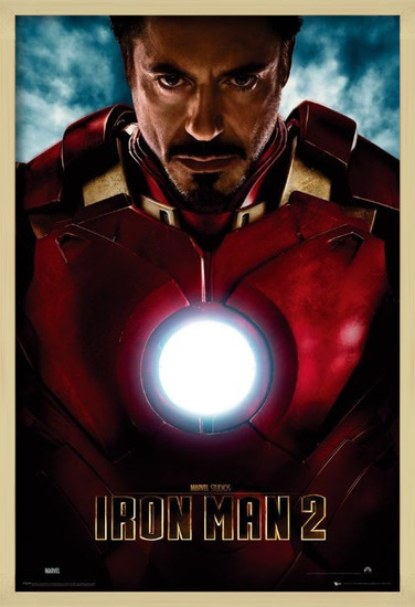 IRON MAN 2 - tony stark Poster