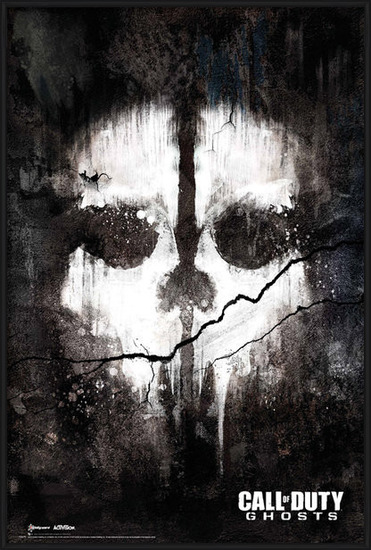 Call of Duty Ghosts - skull Poster