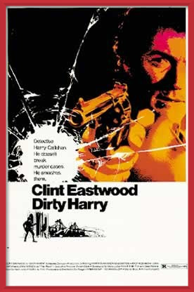 DRSNÝ HARRY - clint eastwood Poster