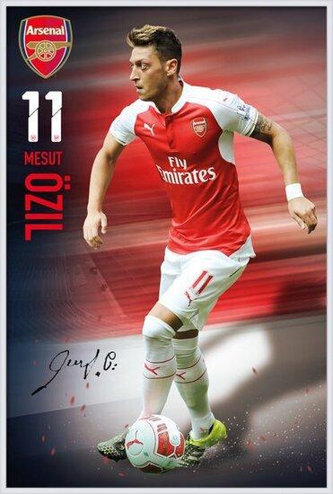 Arsenal FC - Ozil 15/16 Poster