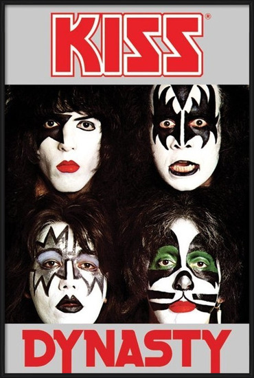 Kiss - dynasty Poster