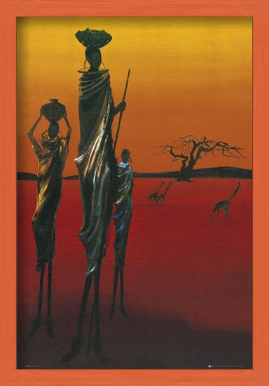 Africa - tribal Poster