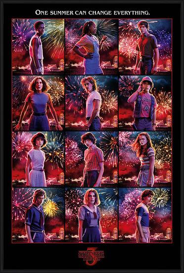 Stranger Things - Character Montage Poster