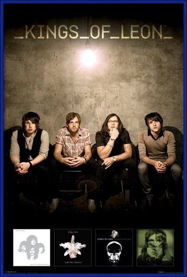 Kings of Leon – albums Poster