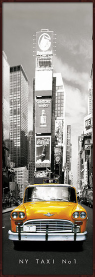 New York taxi no.1 Poster