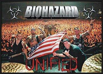 Biohazard – crowd Poster