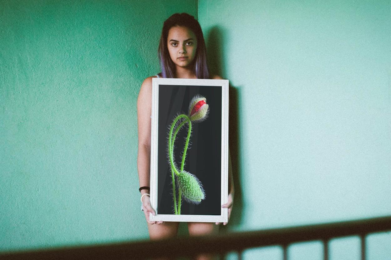 Ekskluzivna fotografska umetnost Interlaced