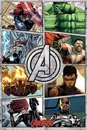 The Avengers - Comic Panels